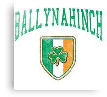 Ballynahinch, Ireland with Shamrock Canvas Print