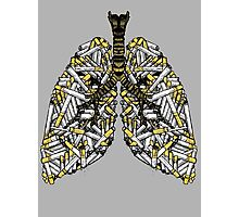 CLEAN LUNGS T-SHIRT Photographic Print