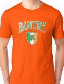 Bantry, Ireland with Shamrock Unisex T-Shirt
