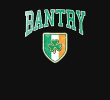Bantry, Ireland with Shamrock Zipped Hoodie