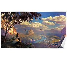 the sacred island Poster