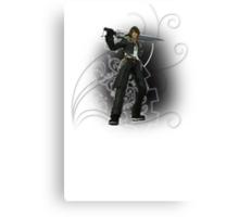 Final Fantasy Dissidia - Squall Leonhart Canvas Print