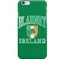 Blarney, Ireland with Shamrock iPhone Case/Skin