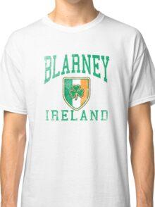 Blarney, Ireland with Shamrock Classic T-Shirt