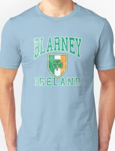 Blarney, Ireland with Shamrock T-Shirt
