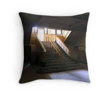 administration stairwell Throw Pillow