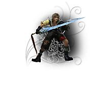 Final Fantasy Dissidia - Tidus Photographic Print