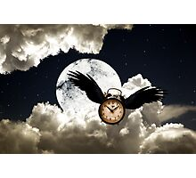 Time Flies Photographic Print