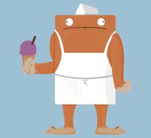 Ice Cream Vendor - Everyday Monsters Baby Tee