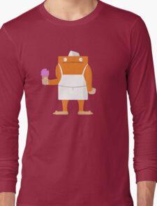 Ice Cream Vendor - Everyday Monsters Long Sleeve T-Shirt