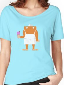 Ice Cream Vendor - Everyday Monsters Women's Relaxed Fit T-Shirt