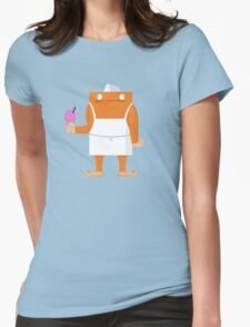 Ice Cream Vendor - Everyday Monsters Womens Fitted T-Shirt