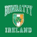 Bunratty, Ireland with Shamrock by Greenbaby