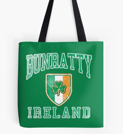 Bunratty, Ireland with Shamrock Tote Bag