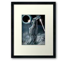 Moon Dust Framed Print