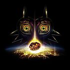 Legend of Zelda Majora's Mask Operation Moon Fall by barrettbiggers