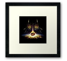 Legend of Zelda Majora's Mask Operation Moon Fall Framed Print