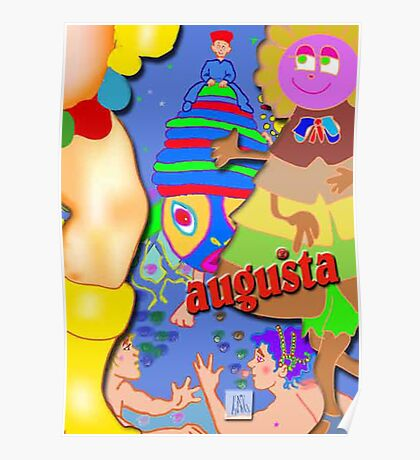 Augusta Undersea Adventures Poster