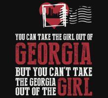 Georgia Girl T-shirt by musthavetshirts