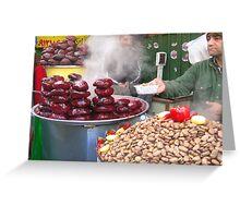 Tajrish Bazaar-Tehran Greeting Card