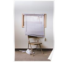 venetian chair Poster