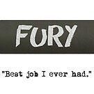 Fury -Tank by sionyboy82