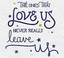 "Harry Potter ""Never leave us"" by earthlightened"
