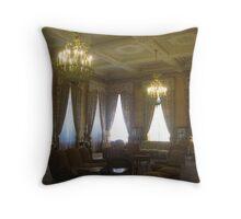 Shah's Palace-Tehran Throw Pillow