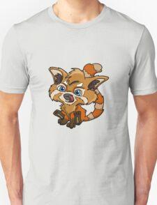New school red panda design T-Shirt