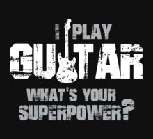Guitar Superpower T-shirt by musthavetshirts