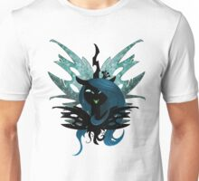 Queen Chrysalis (With wings in BG) Unisex T-Shirt