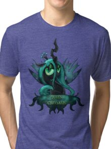 MLP: Queen Chrysalis Tri-blend T-Shirt