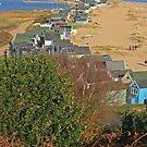 Mudeford Spit, Christmas Day 2014 by RedHillDigital