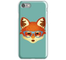 Hipster Fox iPhone Case/Skin
