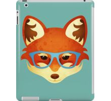 Hipster Fox iPad Case/Skin