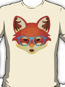 Hipster Fox T-Shirt