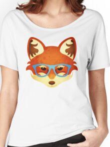 Hipster Fox Women's Relaxed Fit T-Shirt