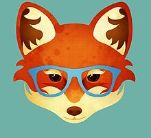 Hipster Fox by Compassion Collective