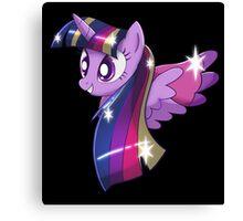 Rainbowfied Princess Twilight Sparkle Canvas Print
