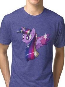 Rainbowfied Princess Twilight Sparkle Tri-blend T-Shirt