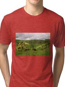 North West, Along Cressbrook Dale Tri-blend T-Shirt