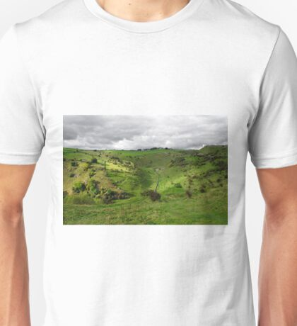 North West, Along Cressbrook Dale Unisex T-Shirt