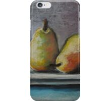 A Pair of Pears iPhone Case/Skin