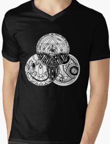 Superwholock Venn Diagram Mens V-Neck T-Shirt