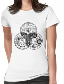Superwholock Venn Diagram Womens Fitted T-Shirt