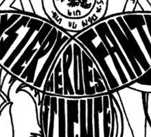Superwholock Venn Diagram Sticker
