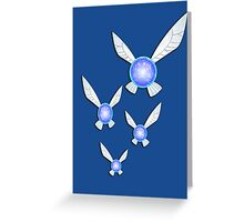 Legend of Zelda Fairies -Navi Buddies!!! Greeting Card
