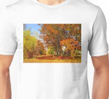 Autumn colors of nature Unisex T-Shirt