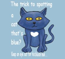 Blue cat 3 - this time it's textual by Cantus