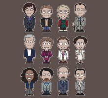 Sherlock and Friends mini people (shirt) Kids Clothes